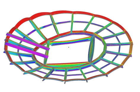 Member design in FEA - advanced FEA model